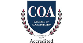 Accredited by the Council of Accreditation